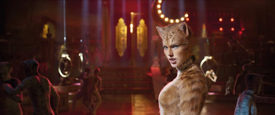 Taylor Swift appears in the upcoming Cats film (Universal Pictures)