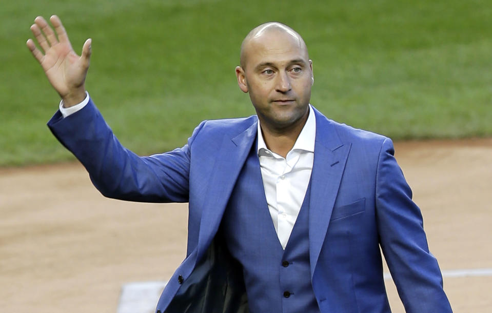 Derek Jeter is already putting his stamp on the Miami Marlins (AP)