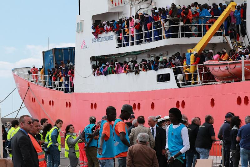 With arrivals of migrants and refugees in Italy up nearly 19 percent over the same period last year, Rome has threatened to close its ports to privately-funded aid boats or insist that funding be cut to EU countries which fail to help