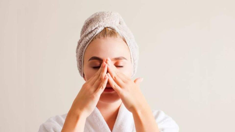 Get that festive glow with these facial yoga exercises
