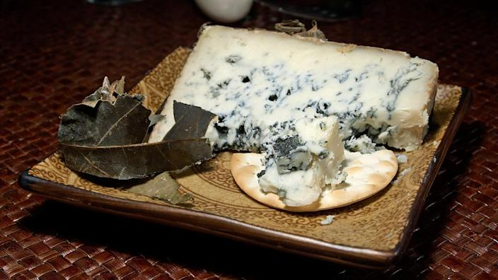 Cabrales blue cheese.