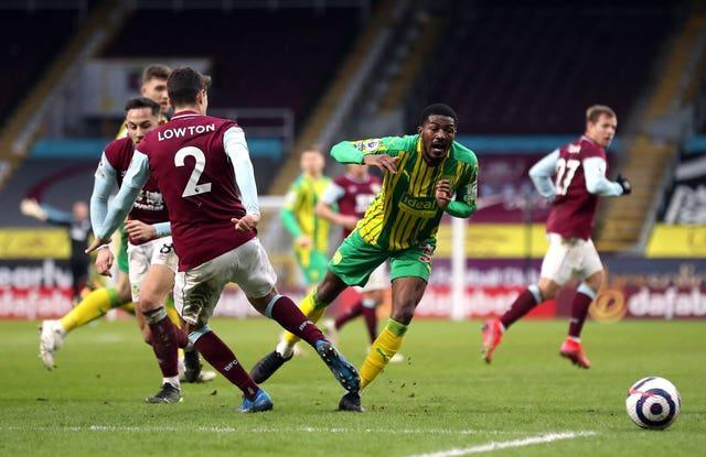 Ainsley Maitland-Niles in action for West Brom