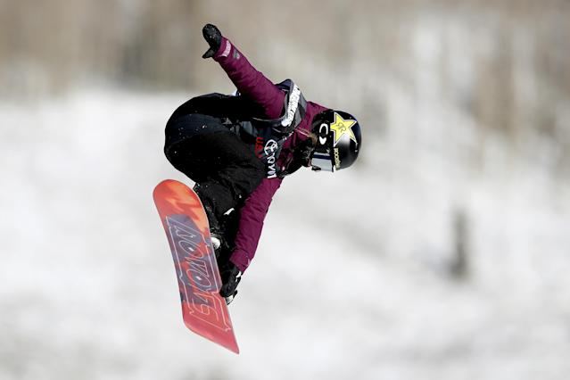"<p>Last year she won gold at the X Games in Aspen, Colorado and became the first woman to land a ""cab double cork 1080"" at an X Games. She's ranked no. 2 in the 2016/17 World Snowboard Tour big air standings. (Getty) </p>"