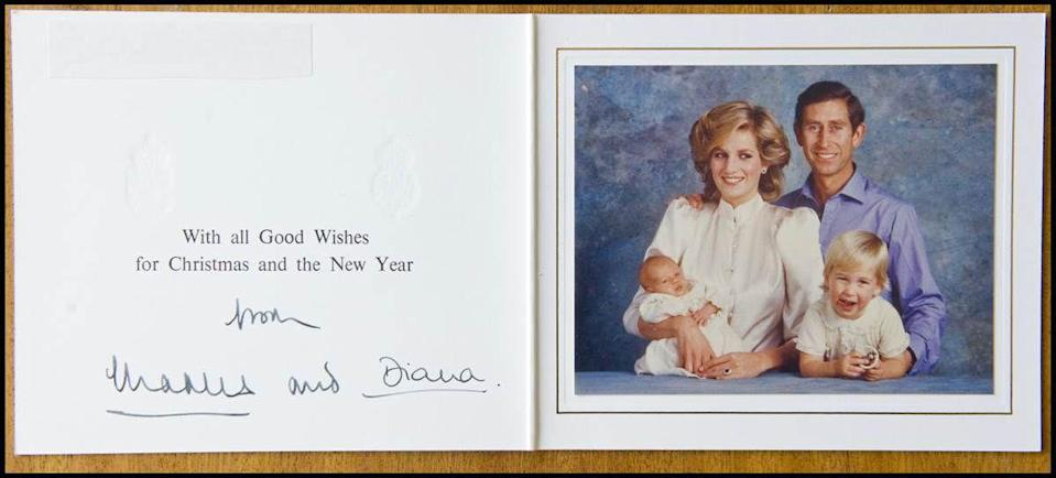 <p>In 1984, the addition of Prince Harry completed this family foursome.</p>