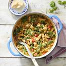 <p>This one-pot pasta with tangy tomato-basil sauce is a simple, fast and easy weeknight dinner. All of your ingredients go into one pot, and with a bit of stirring and about 25 minutes of cook time, you'll have a healthy dinner the whole family will enjoy.</p>