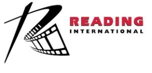 Webcast Date for Second Quarter 2020 Results Announced by Reading International