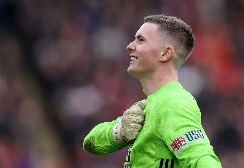 Sheffield United confident keeper Henderson will stay for rest of season