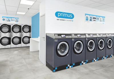 Primus laundromats equipped with XControl FLEX platform offer state-of-the-art user-experience and connectivity.