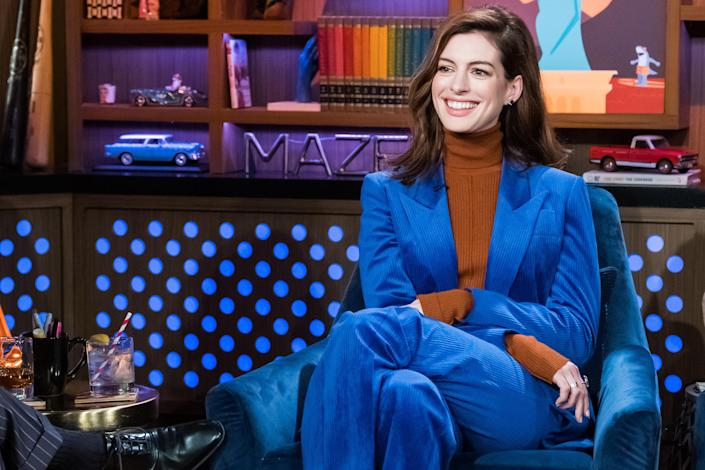 "Anne Hathaway says she's ""figured out how to say thank you to life by taking care of myself."" (Photo: Getty Images)"