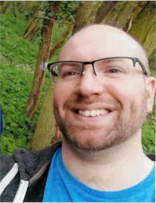 Ebbage's body was found at the bottom of the stairs at his home by his partner. (Cambridgeshire Police)