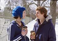 "<p>Not only does Scott Pilgrim (<a class=""link rapid-noclick-resp"" href=""https://www.popsugar.com/Michael-Cera"" rel=""nofollow noopener"" target=""_blank"" data-ylk=""slk:Michael Cera"">Michael Cera</a>) have to defeat seven evil exes, he has to do it in the cold, Canadian snow. Just be glad you don't have to fight Chris Evans today.</p>"