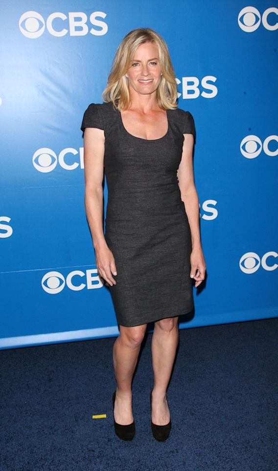 "Elisabeth Shue (""CSI"") attends CBS's 2012 Upfront Presentation on May 16, 2012 in New York City."