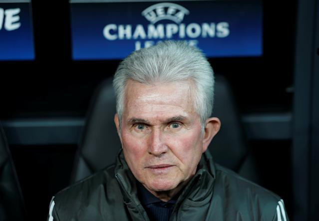 Soccer Football - Champions League Round of 16 Second Leg - Besiktas vs Bayern Munich - Vodafone Arena, Istanbul, Turkey - March 14, 2018 Bayern Munich coach Jupp Heynckes before the match REUTERS/Murad Sezer