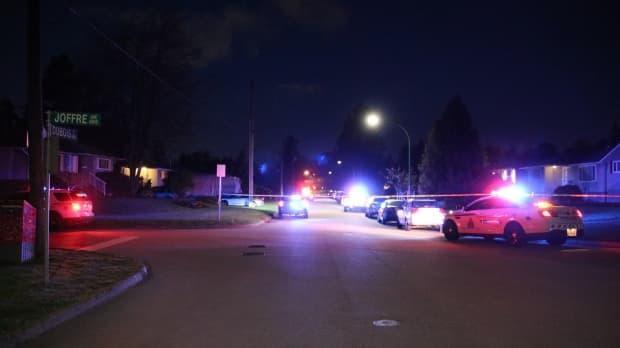 Frontline officers responded to a report of shots being fired in the area of Dubois Street and Boundary Road around 4:10 a.m. on Sunday.