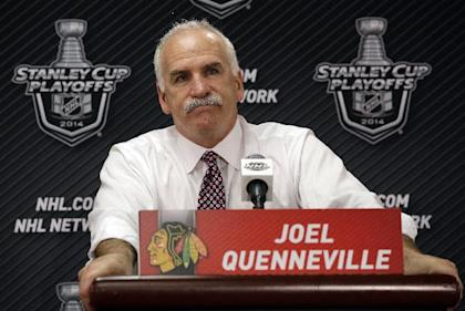 Joel Quenneville's salary is believed to be $2.75M. Detroit would likely match that on a multi-year deal for Babcock. (AP)