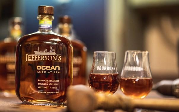 "Jefferson's ""Very Small Batch"" Ocean is aged at sea aboard a marine exploration vessel. Photo courtesy of Jefferson's Ocean"