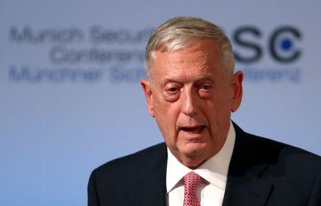 U.S.  defence secretary Mattis in Djibouti to visit key military base
