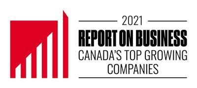 Report on Business Canada's Top Growing Companies 2021 (CNW Group/Equium Group)