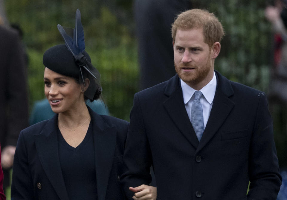 Meghan and Harry reportedly began renting the Cotswold property before their wedding last year [Photo: Getty]