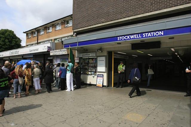 Man hit in head by Tube train in horror accident at Stockwell station