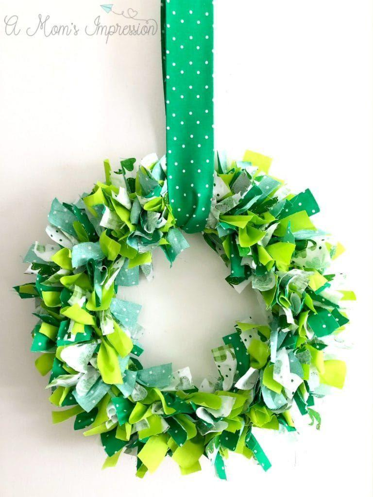 """<p>Though it does take a bit of time to craft, this gorgeous wreath is a great way to add a little extra holiday spirit to any room in the house or the front porch. </p><p><em>Get the tutorial at <a href=""""https://amomsimpression.com/how-to-make-a-shamrock-wreath/"""" rel=""""nofollow noopener"""" target=""""_blank"""" data-ylk=""""slk:A Mom's Impression"""" class=""""link rapid-noclick-resp"""">A Mom's Impression</a>.</em></p>"""
