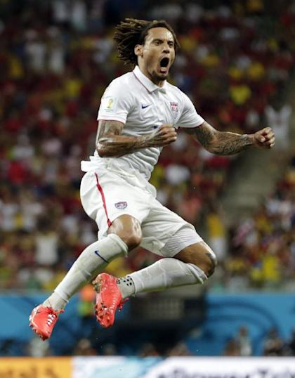 Jermaine Jones scored an equalizer against Portugal. (AP)