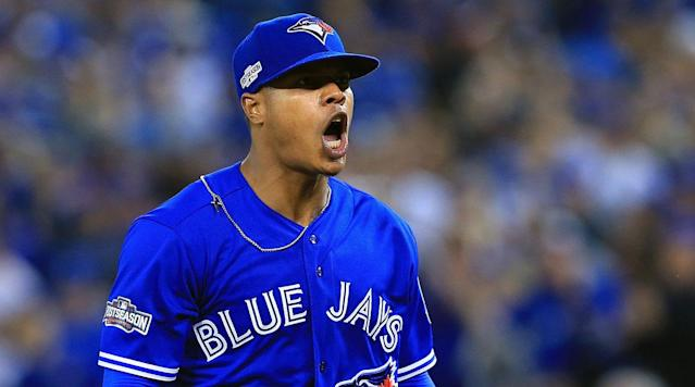 Stroman's first full season in the rotation was not a stellar one, as he finished with a 4.37 ERA and 3.71 FIP with 7.3 strikeouts per nine, but he was much stronger in the second half (3.68 ERA, 3.01 FIP, 8.4 strikeouts per nine) than the first.