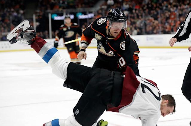 Whicker: Corey Perry gave the Ducks all he had – as well as his opponents