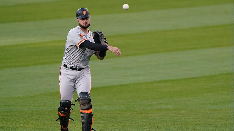 Evan Longoria explains why Joey Bart, Giants 'really needed' Buster Posey