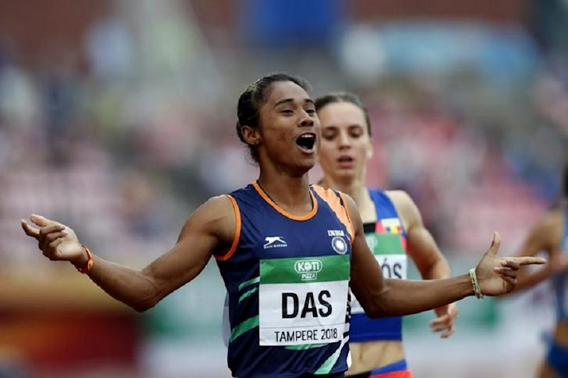 From Amitabh Bachchan to Sachin Tendulkar, Celebs in Awe After Sprinter Hima Das Wins 5th Gold