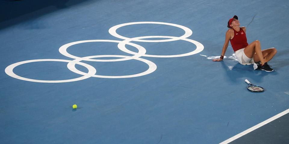 Olympic joy for Bencic - Reuters