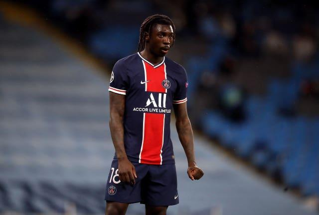 Moise Kean impressed with PSG