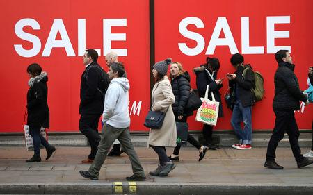United Kingdom retail sales grow less than expected in January