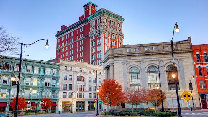 Binghamton is a city in, and the county seat of, Broome County, New York, United States.