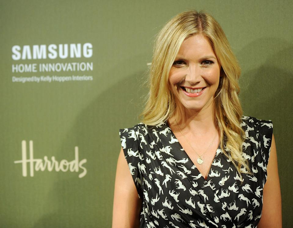 Lisa Faulkner attends the Samsung Home Innovation space, designed by Kelly Hoppen at Harrods on September 3, 2013 in London, England.  (Photo by Stuart C. Wilson/Getty Images for Samsung)