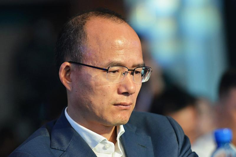 Billionaire Guo Guangchang, the chairman of Fosun, is China's 19th richest man, according to Forbes (AFP Photo/)