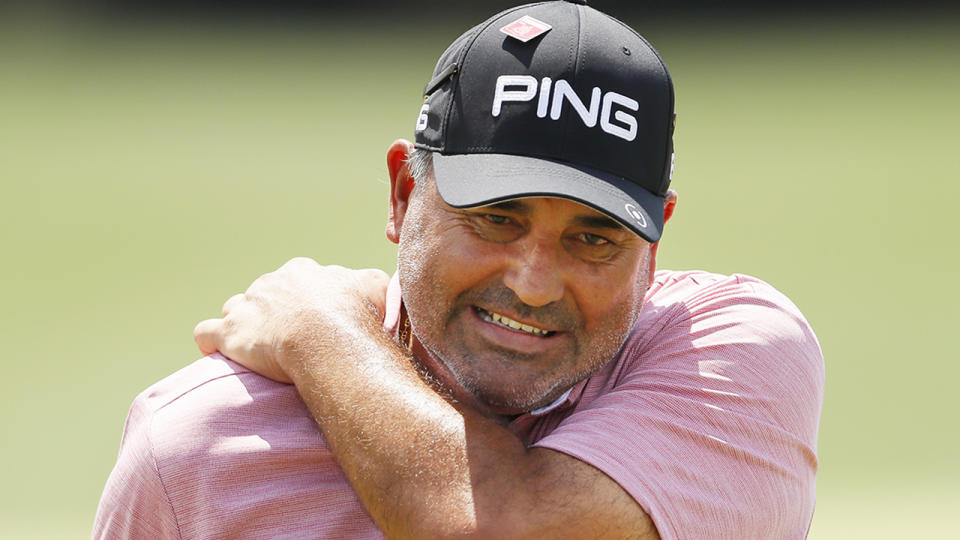 Former US Open winner Angel Cabrera has been extradited to his native Argentina from Brazil over domestic violence charges. (Photo by Kevin C. Cox/Getty Images)
