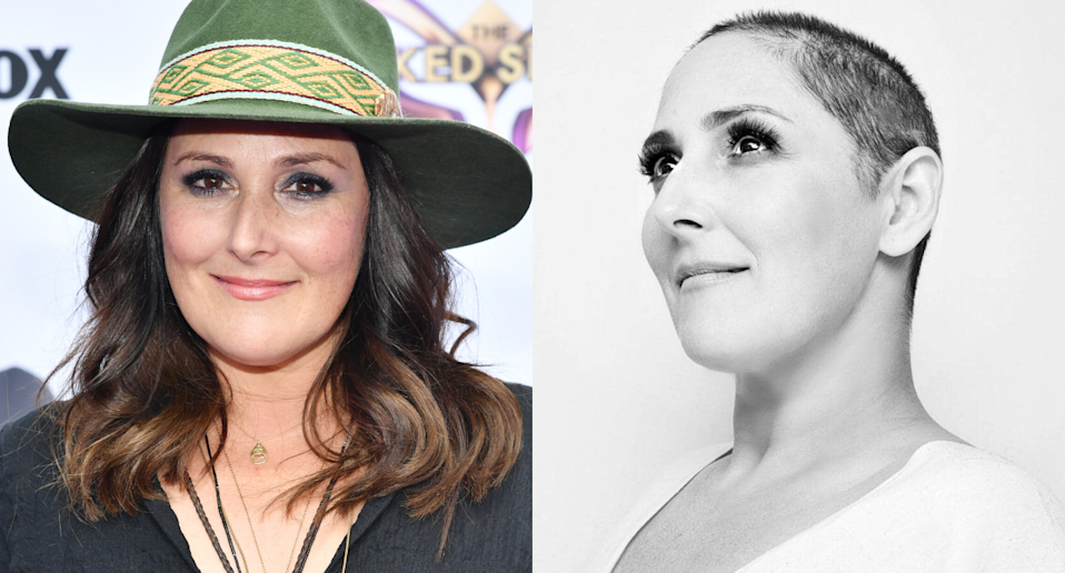 Ricki Lake (Images Getty Images/Amy Sussman) and Facebook (Photo by Amanda Demme).