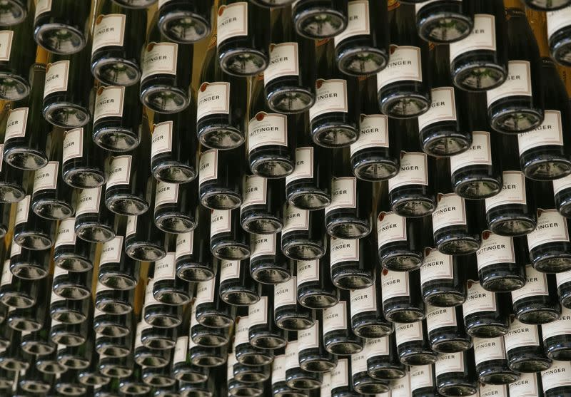 Champagne sales sink in a world with little to celebrate