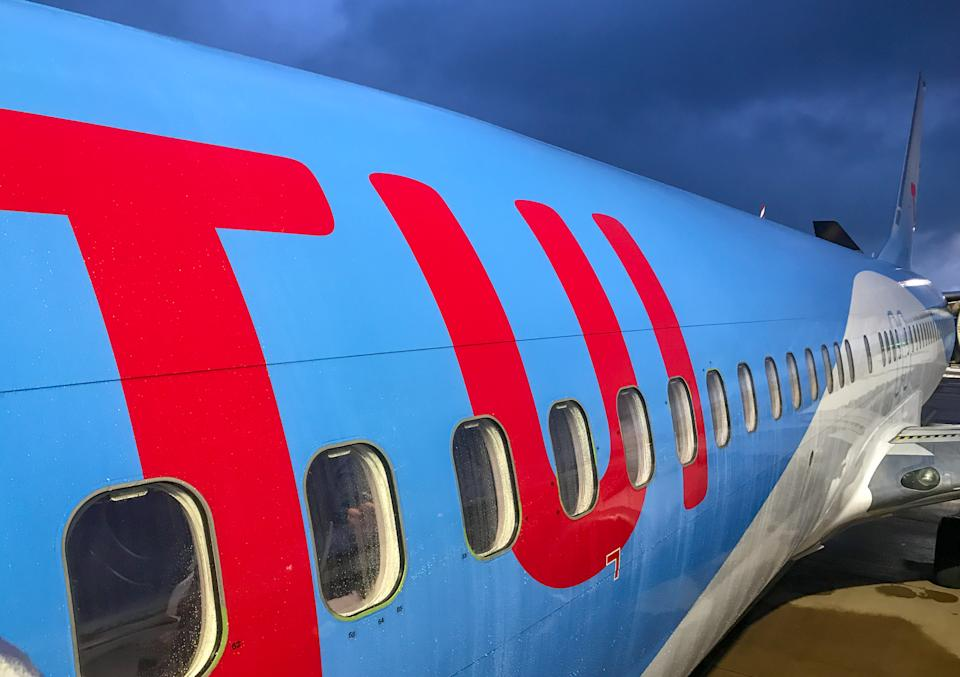 Tui's group revenue was €716m, down 89%. Photo: Getty Images