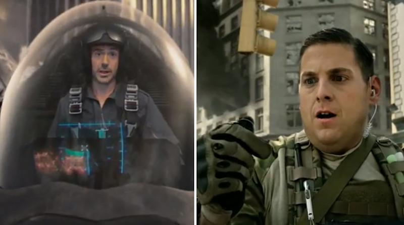 Robert Downey Jr. and Jonah Hill in previous 'Call of Duty' trailers