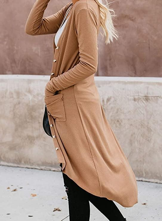 <p>The roomy pockets on this <span>Naggoo Long Cardigan with Pockets</span> ($9-$28) immediately caught our eye.</p>