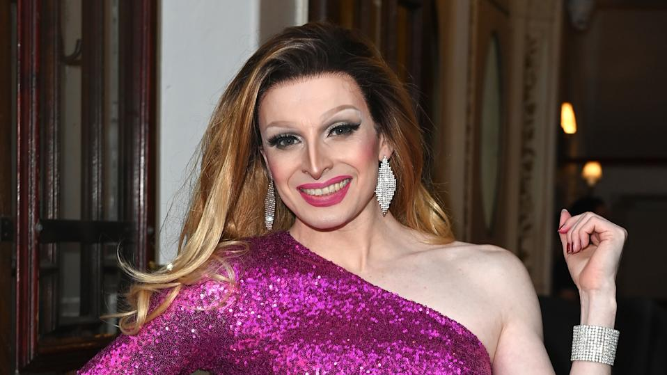 Veronica Green shared a picture of soldiers in drag. (Kate Green/Getty Images)
