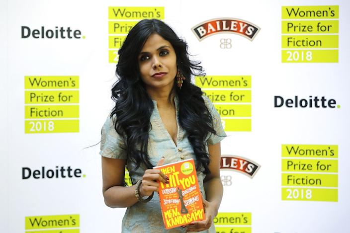 Meena Kandasamy was among the shortlisted authors for the Women's Prize for Fiction in 2018. (Photo by TOLGA AKMEN/AFP/Getty Images)
