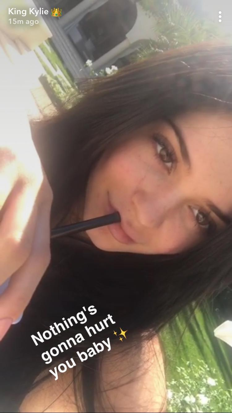 Kylie Jenner teases fans about a possible pregnancy