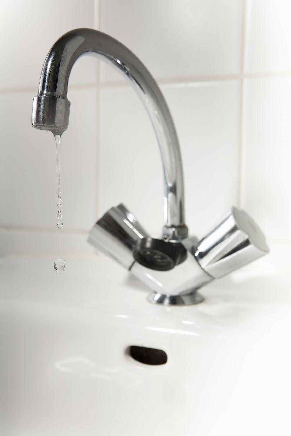 <p>Those tiny drops of water add up big time when it comes to your water bill. Tighten up a drippy faucet to cut down on the water you didn't even realize you were consuming.</p>