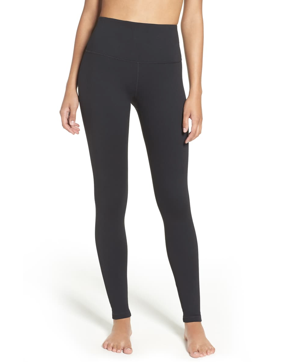 """We've said it before and we'll say it again: Zella makes some of <a href=""""https://www.glamour.com/story/zella-leggings-nordstrom-review?mbid=synd_yahoo_rss"""" rel=""""nofollow noopener"""" target=""""_blank"""" data-ylk=""""slk:the best leggings"""" class=""""link rapid-noclick-resp"""">the best leggings</a> in town. It ticks all our boxes for a multipurpose pair (doesn't sag, seams stay intact, and can hold its own on the couch or in a 2-minute plank hold), all while ringing in at less than $60. $59, Nordstrom. <a href=""""https://www.nordstrom.com/s/zella-live-in-high-waist-leggings/4312529"""" rel=""""nofollow noopener"""" target=""""_blank"""" data-ylk=""""slk:Get it now!"""" class=""""link rapid-noclick-resp"""">Get it now!</a>"""
