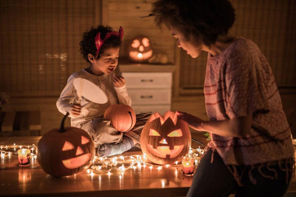 """<p>Answer: As <a href=""""https://www.officeholidays.com/facts/halloween"""" rel=""""nofollow noopener"""" target=""""_blank"""" data-ylk=""""slk:OfficeHolidays.com"""" class=""""link rapid-noclick-resp"""">OfficeHolidays.com</a> points out, the term for having a deep fear of the holiday of Halloween is called 'Samhainophobia.' Just don't confuse it with sanguivoriphobia (fear of vampires), seleneophobia (fear of the moon), or skelephobia (fear of skeletons).</p>"""