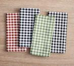 <p>Dress your table up in fun fall flair with the <span>Gingham Cotton Napkins</span> ($32).</p>