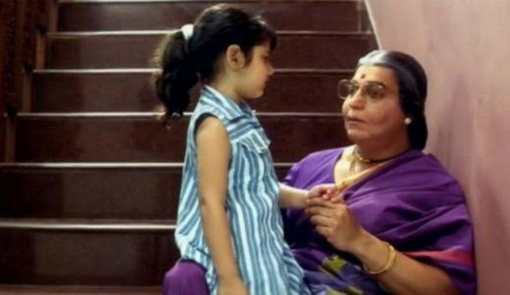 <p>A Kamal Hassan comedy that promises to cheer you up any day. Disguised as a 50 something women, Jai enters his wife's maternal home to care after his tiny daughter, without the slightest hint of the complications awaiting him. You will enjoy the little heart-to-hearts between the father-daughter duo. </p>